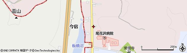 山形県尾花沢市朧気577周辺の地図