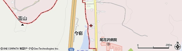 山形県尾花沢市朧気890周辺の地図