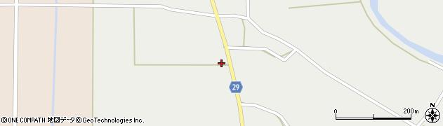 山形県尾花沢市上柳渡戸589周辺の地図