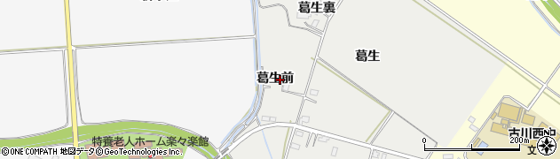 宮城県大崎市古川荒田目(葛生前)周辺の地図