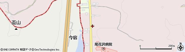 山形県尾花沢市朧気514周辺の地図