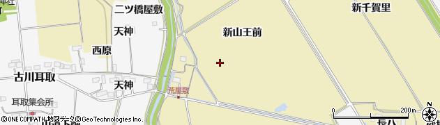 宮城県大崎市古川柏崎周辺の地図