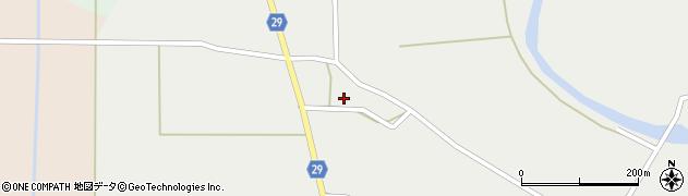 山形県尾花沢市上柳渡戸666周辺の地図