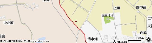 宮城県大崎市古川柏崎(沢田)周辺の地図