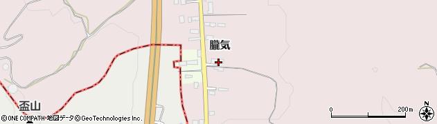 山形県尾花沢市朧気675周辺の地図