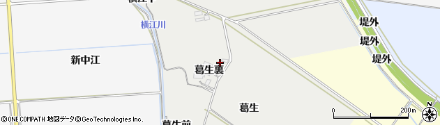 宮城県大崎市古川荒田目(葛生裏)周辺の地図