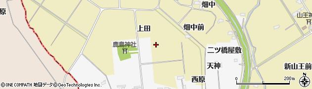 宮城県大崎市古川柏崎(上田)周辺の地図