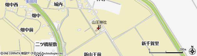 宮城県大崎市古川柏崎(山王東)周辺の地図