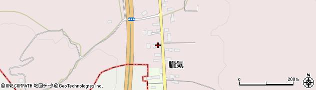 山形県尾花沢市朧気655周辺の地図