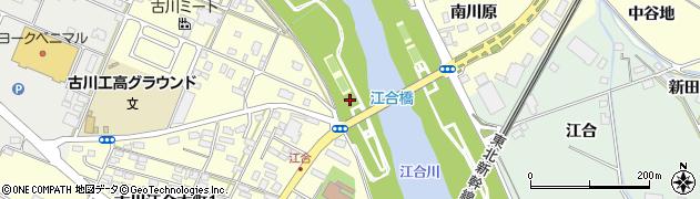 宮城県大崎市古川江合周辺の地図