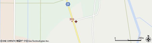 山形県尾花沢市上柳渡戸657周辺の地図