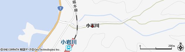 山形県鶴岡市小岩川周辺の地図