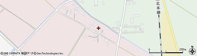 宮城県大崎市田尻桜田高野(下田)周辺の地図