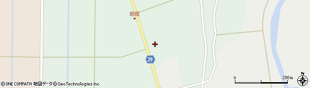 山形県尾花沢市上柳渡戸1197周辺の地図