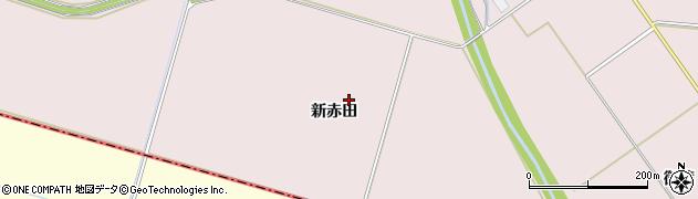 宮城県大崎市田尻(赤田)周辺の地図