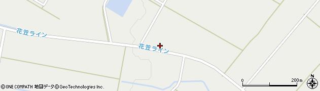 山形県尾花沢市二藤袋玉野原周辺の地図