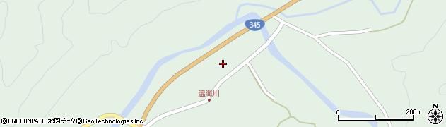 山形県鶴岡市温海川(甲)周辺の地図