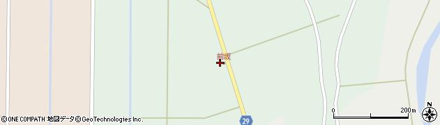 山形県尾花沢市上柳渡戸964周辺の地図