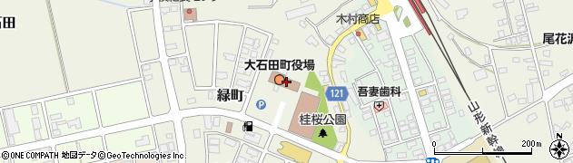 山形県北村山郡大石田町周辺の地図