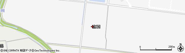 宮城県大崎市古川大崎(富国)周辺の地図