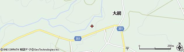 山形県鶴岡市大網(村下)周辺の地図