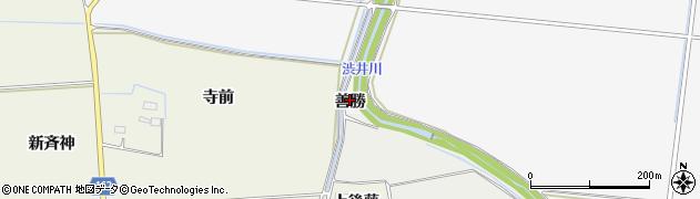 宮城県大崎市古川大崎(善勝)周辺の地図