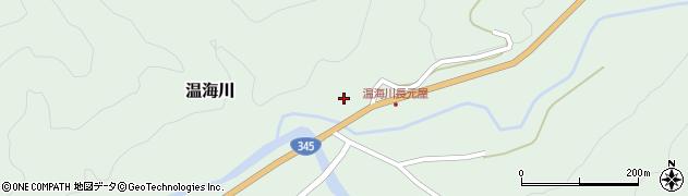 山形県鶴岡市温海川(戊)周辺の地図