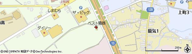 山形県尾花沢市尾花沢1779周辺の地図