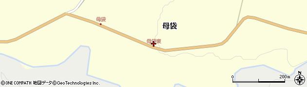 山形県尾花沢市母袋95周辺の地図