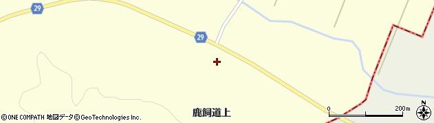 宮城県大崎市田尻大貫(鹿飼道上)周辺の地図