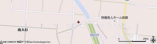 宮城県大崎市田尻(薬師堂前)周辺の地図