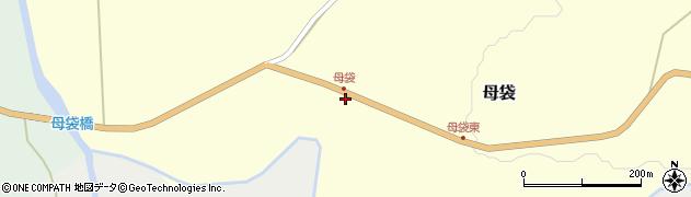 山形県尾花沢市母袋105周辺の地図