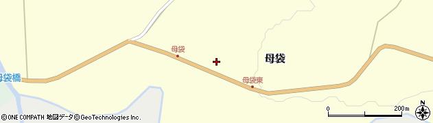 山形県尾花沢市母袋64周辺の地図