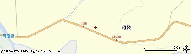 山形県尾花沢市母袋63周辺の地図
