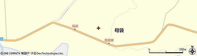 山形県尾花沢市母袋66周辺の地図
