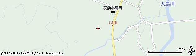 山形県鶴岡市本郷(平沢下)周辺の地図