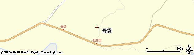 山形県尾花沢市母袋74周辺の地図