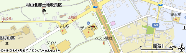 山形県尾花沢市尾花沢下新田周辺の地図