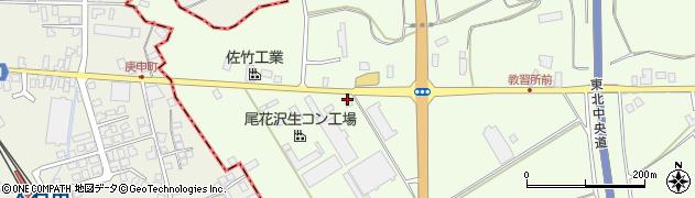 山形県尾花沢市尾花沢1325周辺の地図