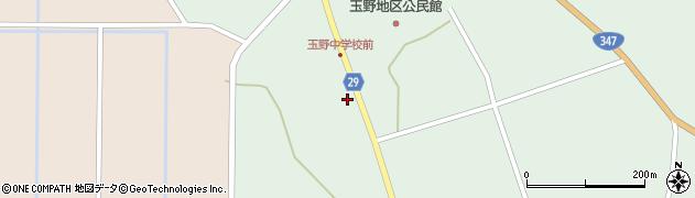 山形県尾花沢市鶴巻田1200周辺の地図