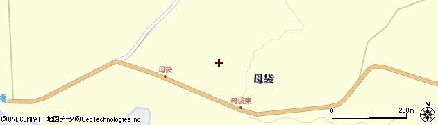 山形県尾花沢市母袋67周辺の地図