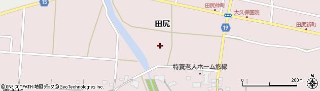 宮城県大崎市田尻(北広町)周辺の地図