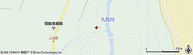 山形県鶴岡市本郷(寺下)周辺の地図