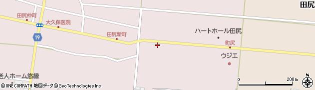 宮城県大崎市田尻(町尻)周辺の地図