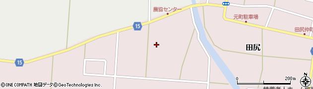 宮城県大崎市田尻(北大杉)周辺の地図