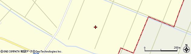 宮城県大崎市田尻大貫(新鹿飼道下)周辺の地図