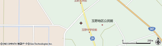 山形県尾花沢市鶴巻田839周辺の地図