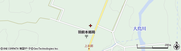 山形県鶴岡市本郷(東ノ前)周辺の地図
