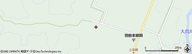山形県鶴岡市本郷(田ノ沢口)周辺の地図