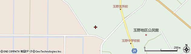 山形県尾花沢市鶴巻田504周辺の地図